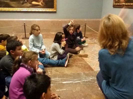Arte en el Aula: fomentando el pensamiento visual