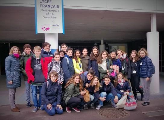 Intercambio con el Lycée Français Jean Monnet (Bruselas)