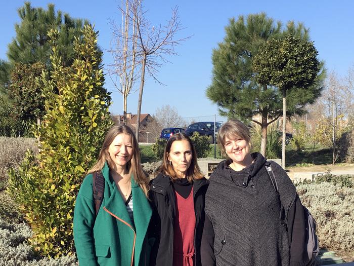 Visita de profesoras del Rysensteen Gymnasium