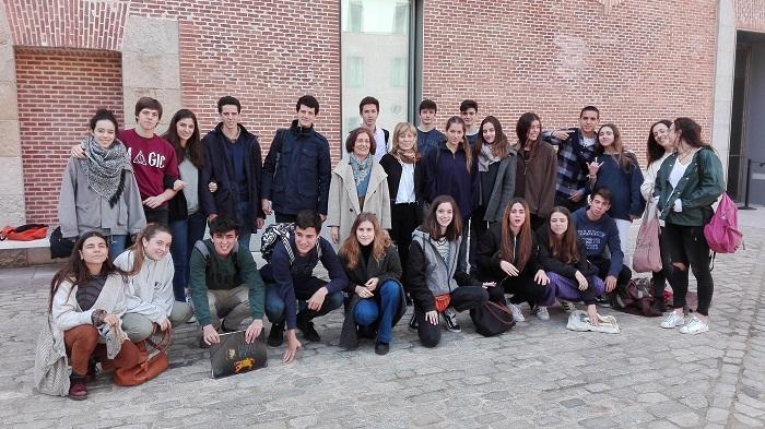 La clase 17 visita el Archivo Histórico Nacional