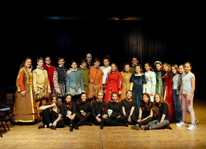 Las clases 14 representan la Dança General de Felipe II
