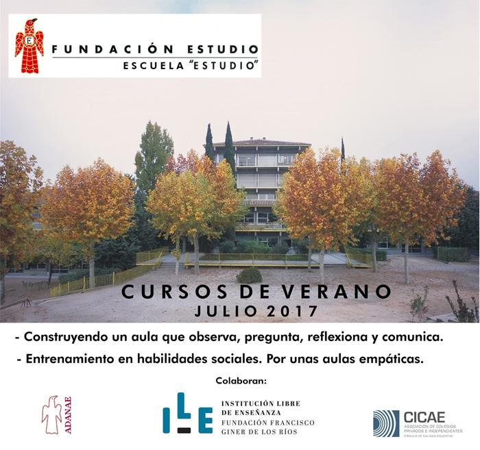 """Escuela """"Estudio"""" Cursos de Verano – Julio 2017"""