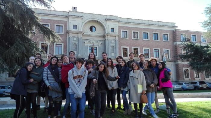 Visita al Archivo Histórico Nacional