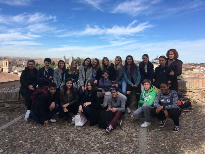 Clases 15: Intercambio con el Liceo francés Jean Monnet de Bruselas