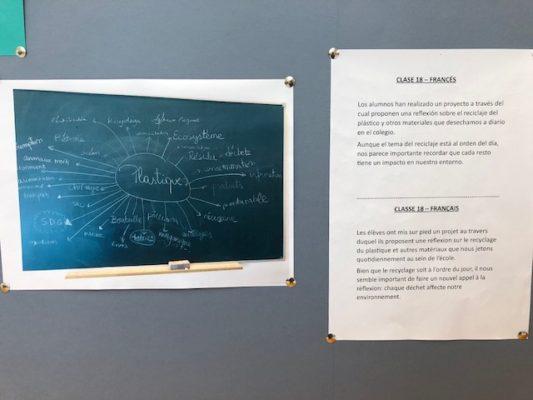 Bachillerato: Clase 18 francés – Le recyclage