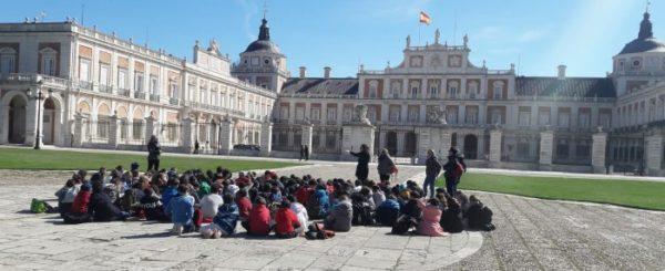 Las clases X en la Villa de Aranjuez
