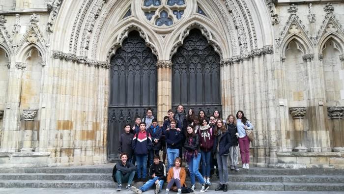 Alumnos Clase 14: Inmersión Lingüística en Inglaterra