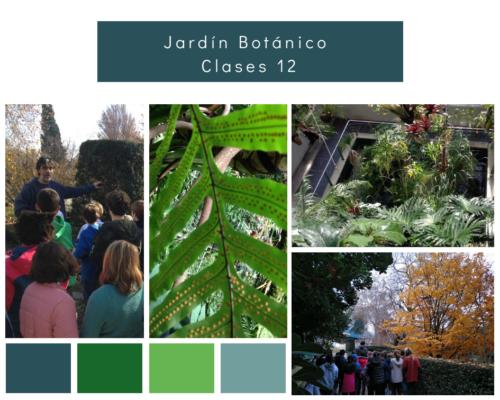 Clases 12: Visita Jardín Botánico de Madrid