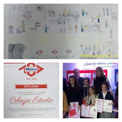 II SECCIÓN: Premios Concurso de Dibujo¿Qué es Metro para ti?