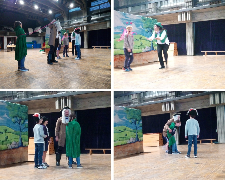INGLÉS – II SECCIÓN: English Theater