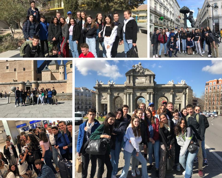 INTERCAMBIO:  l'École Alsacienne de París en Madrid