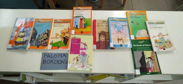 CLASES X: Encuentro con la escritora Paloma Bordons