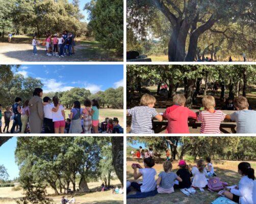 CLASES VIII: Excursión Parque Natural de la Cabilda