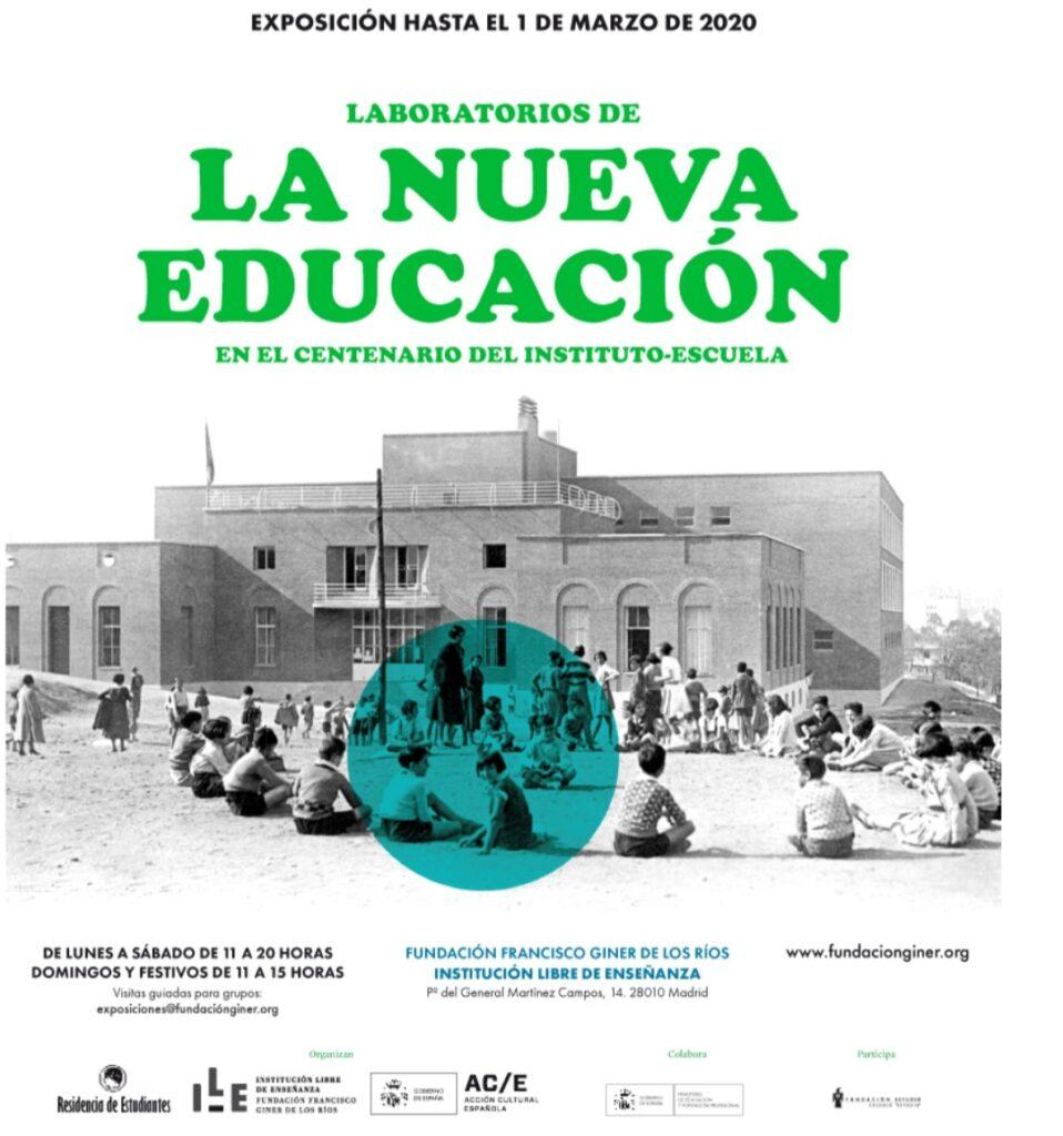 Exposición: «Laboratorios de la Nueva Educación: en el centenario del Instituto-Escuela».