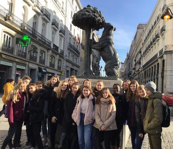 Intercambio: Liceo francés Jean Monnet de Bruselas