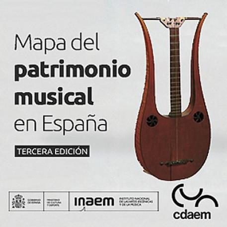 Publicación del III Mapa del patrimonio musical en España