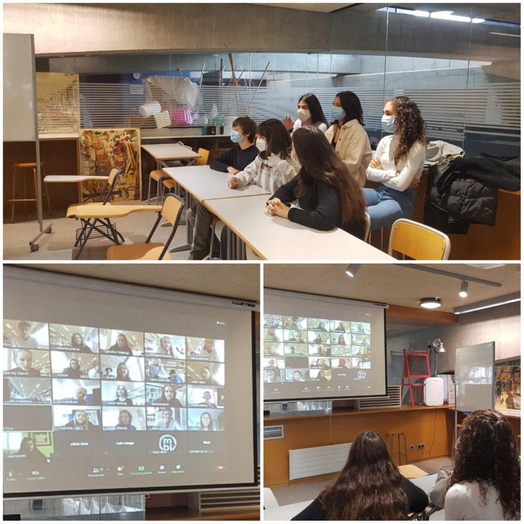 Encuentro virtual con el Rysensteen Gymnasium