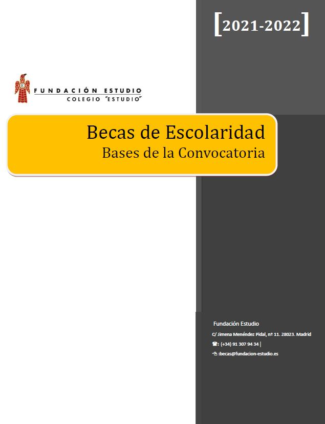 Base de Becas Curso 2021-2022