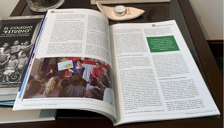 """Estudio en la Revista """"Mi Biblioteca"""""""